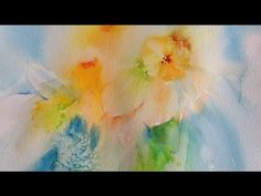Cherry Tree Watercolor In Blossom [April 10th] - YouTube