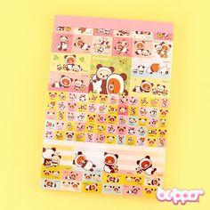 Buy Rilakkuma X Panda Letter Paper Pad | Free Shipping | Blippo Kawaii Shop