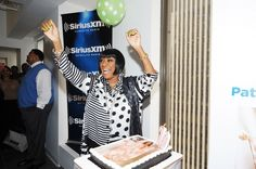 You'd be cheering too if you looked that great at 70. Patti LaBelle kicks off her birthday weekend at SiriusXM Studios on May 22 in New York