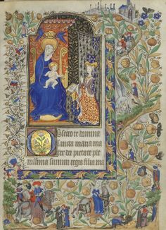 Horae ad usum romanum. Date d'édition : 1401-1500 http://gallica.bnf.fr/ark:/12148/btv1b52502614h/f57.item.zoom