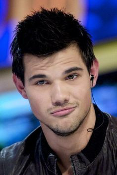 Taylor Lautner stopped by the El Hormiguero TV show at Vertice 360 Studio yesterday, September 29, in Madrid