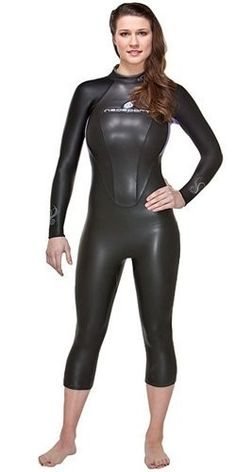 What about the swim? Triathlon Wetsuit, Triathlon Gear, Sweater Dress Outfit, Sweater Shirt, Ninja Girl, Diving Suit, Womens Wetsuit, Country Sweatshirts, Ideal Fit