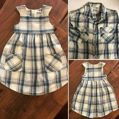 Old Shirts, Dad To Be Shirts, Sewing Clothes, Diy Clothes, Sewing Coat, Little Girl Dresses, Girls Dresses, Baby Dresses, Pageant Dresses