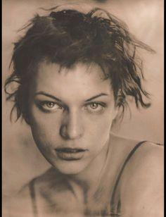 Milla Jovovich by Frank W. Ockenfels III
