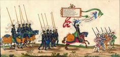 Knight's - Artist: various, Title: »Triumphzug Kaiser Maximilians« Page 77, Date: 1526
