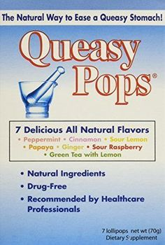 Three Lollies Queasy Pops Lollipops Variety Pack for Nausea Relief 3 Count | eBay