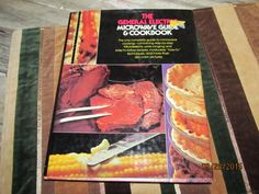 Vintage General Electric Microwave Guide & Cookbook Hard Cover Recipe Cook Book 1977 by EvenTheKitchenSinkOH on Etsy