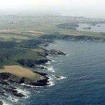 Playa de Las Poleas, en la costa asturiana