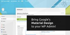 Download Material WP  Material Design Dashboard Theme v0.0.45 Download Material WP  Material Design Dashboard Theme v0.0.45 Latest Version