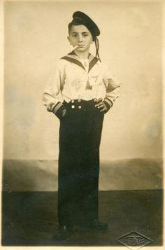 Old 1930's snapshot of young handsome Turkish boy smoking a cigarette in marine uniform sailor suit Turkey ORIGINAL vintage photo by PhotoMemoriesLane on Etsy