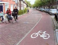 bike-friendly road