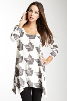 Pass Go Tunic Sweater by Go Couture on @HauteLook