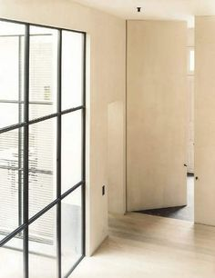 Antwerp home by Vincent Van Duysen, designed in 2001 Modern Interior, Interior Architecture, Interior And Exterior, Interior Doors, Vincent Van Duysen, Brick In The Wall, Common Area, Home And Living, Modern Contemporary