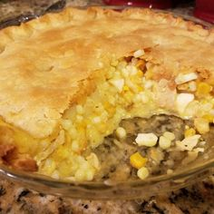 Our Most Traditional Amish and Mennonite Recipes Amish Corn Pie Recipe, Chicken Corn Pie Recipe, Amish Recipes, Corn Recipes, Cooking Recipes, Potluck Recipes, Pie Recipes, Amish Macaroni Salad, Pennsylvania Dutch Recipes