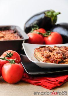 """La """"parmigiana di melanzane"""" in versione delicata: grigiate e non fritte."""