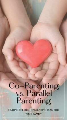 You may have heard of co-parenting. This is where both parents are present in a child's life, even if they're not together. The difference between parallel parenting vs. co-parenting can seem confusing at first glance, but it doesn't need to be! We'll break down what each option means for your family so you know which one will work better for you today. Parenting Plan, Parenting Styles, Single Parenting, Parallel Parenting, Coparenting, Parent Teacher Conferences, Child Support, Parents As Teachers, Child Life