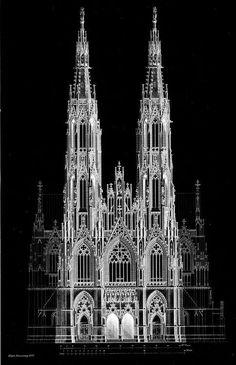 Negativo #gothicarchitecture