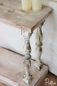I've been itching for an old, rustic French sofa table ever since we bought our new house.  You might remember … Continued