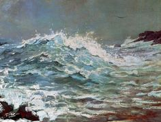 Winslow Homer, The Backrush, 1895