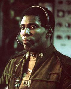 "Herbert Jefferson as Lt Boomer in ""Battlestar Gallactica"" http://www.imdb.com/name/nm0420170/"