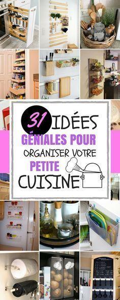 J'ai maintenant des idées de rangement pour mes couteaux, mes plats, et même mes épices. C'est maintenant le moment de les partager ! Dans cet article, vous trouverez 31 idées faciles à faire pour votre cuisine.