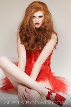 Photographed for model's Portfolio Hair & Makeup: Jessica Barkley Photos: Alistair Cowin