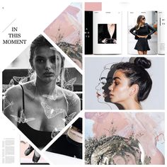 pinterest | silveredskye ♕ Layout Inspiration, Graphic Design Inspiration, Mode Blog, Fashion Collage, Email Design, Layout Design, Web Design, Magazine Design, Editorial Design