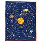 Kids' Bedding: Kids Blue Solar System Bedding | The Land of Nod