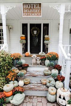 Rustic fall farmhous