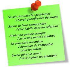 Les 10 compétences psychosociales