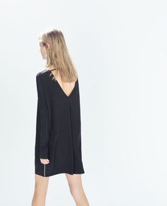 ZARA - TRF - LONG-SLEEVED DRESS