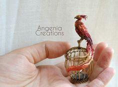 Gorgeous! I love Tonia's work. Fawks Dumbledor's phoenix from Harry Potter.