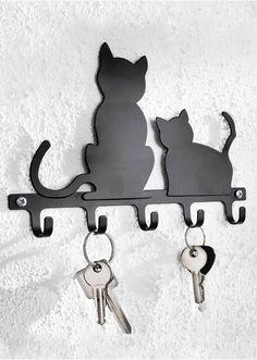 Nyckelhängare «Katzen» svart - bpc living beställa online - bonprix.se