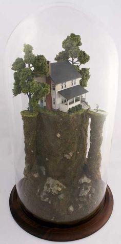 Bell Jar Dioramas