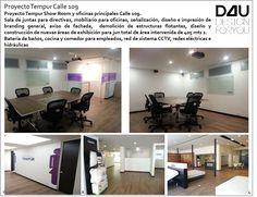 Proyecto Comercial. La sala de ventas mas grande de Tempur Colombia