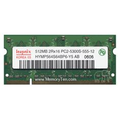 512MB Dell  DDR2-667 PC2-5300 DDR2-667 200pin SDRAM SODIMM Memory Upgrade (p/n A0634786)