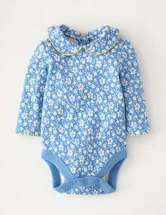 I've spotted this @BodenClothing Pretty Collar Onesie China Blue Cornflower