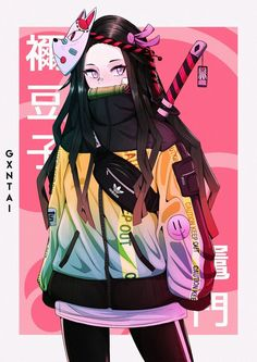 Introducing our newest line of items for the newest anime this year - Demon Slayer (Kimetsu no Yaiba). Just get it all here only in RykaMall and have fun. Anime Neko, Otaku Anime, Kawaii Anime Girl, Manga Kawaii, Chica Anime Manga, Manga Girl, Hot Anime, Fille Anime Cool, Art Anime Fille