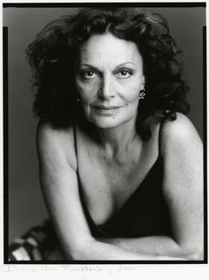 Fashion | Timothy Greenfield-Sanders #Diane Von Furstenberg stilista #donnevincenti