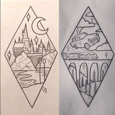 Harry Potter tattoo ideas #BodyArtIllusions #TattooIdeasDibujos