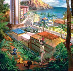 3DS「ポケモン サン ムーン」のイメージビジュアルが海外で公開されました