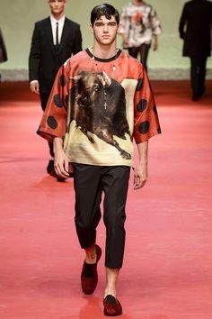 Dolce & Gabbana SPRING/SUMMER 2015 MENSWEAR
