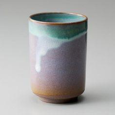 筒湯呑 織部 - 越前焼.com - 日本六古窯 越前福井の陶芸専門サイト