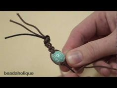 How to Make a Shambhala Bracelet, Part I: Macrame Square Knots