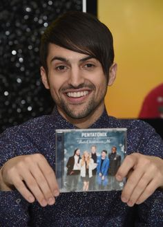 Mitch Grassi Pictures - Pentatonix Visits the NBC Experience Store ...