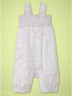 Smocked romper | Gap - Summer (6-9 Month Olds)