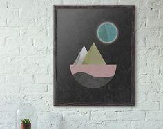 Geometric Art Digital Download Art Modern Art by ThePrintable