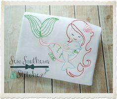 Mermaid and Dolphin Shirt  Personalized by RockintheTutu on Etsy