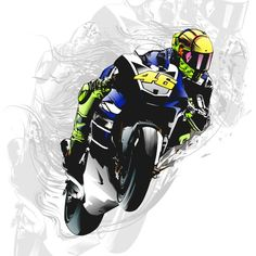 Tribute to Valentino Rossi on Behance