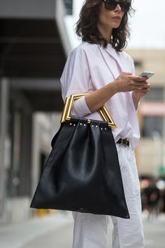 Street Chic - Street Style Fashion Blog   Real-Life Looks (Vogue.co f4a4e9e4b02a6